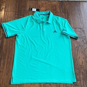 Adidas golf polo Maddens on Gull Lake climacool